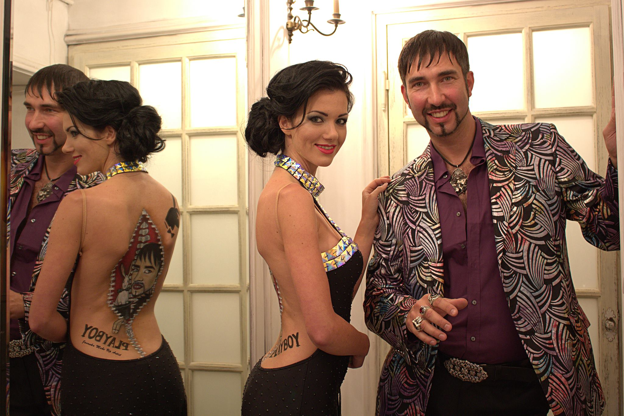 Playboy 2014 iluzjonista Marcin Muszynski